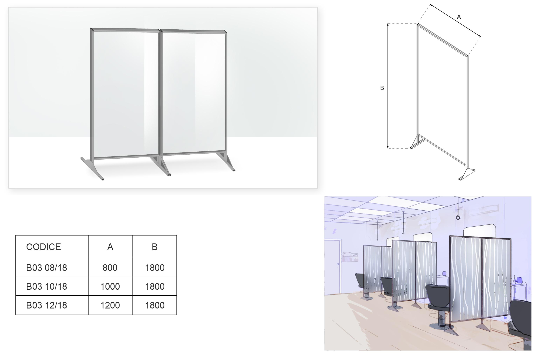 Barriere protettive modulari