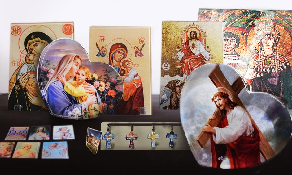Accessoires religieux en verre -  Mira Glass