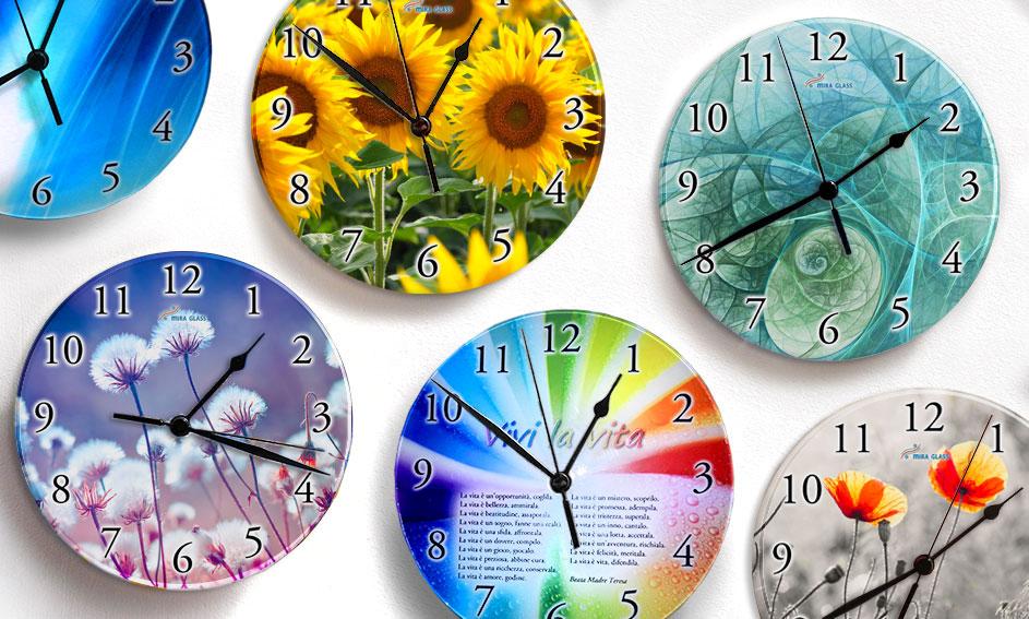 Orologi di vetro - Articoli preziosi Mira Glass