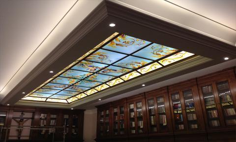 Lucernari in vetro decorato - Religioso Mira Glass