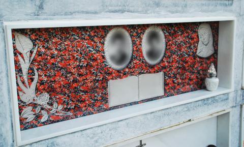 Lapide a muro - Funerario Mira Glass