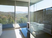 Box doccia con vetro trasparente