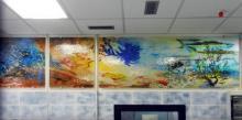 Pannelli con stampa su vetro