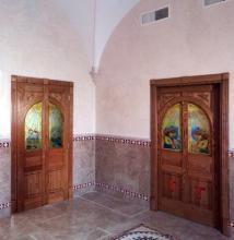 Vetri decorati per porte